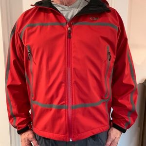 OR Outdoor Research XL Red Shell Ski Coat Jacket